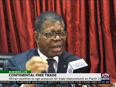 Continental Free Trade - Business Live on JoyNews (9-3-18)