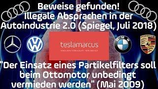 Das ist KRANK: Illegale Absprachen in der Autoindustrie 2.0 um Otto-Partikelfilter zu vermeiden