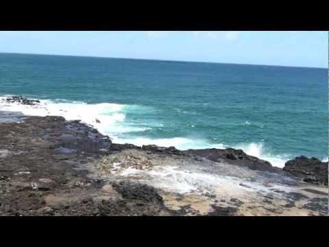 Spouting Horn Blowhole - Kauai - Hawaii