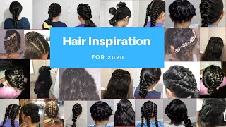 Hair Inspiration for 2020/ Hairstyle and Braid Compilation 2020