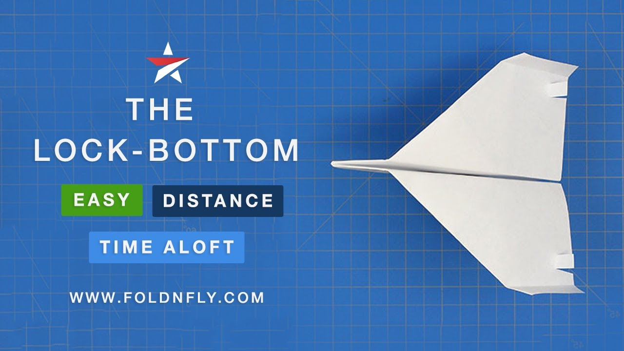 Fun Easy Paper Airplane Project For Kids The Lock Bottom