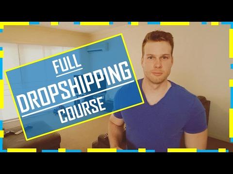 Dropshipping CRASH COURSE - Everything EXPLAINED