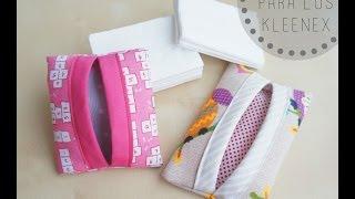 Pinafili: Tutorial para hacer Funda para guardar los kleenex o pañuelos de papel