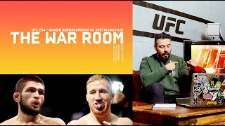 UFC 254 - KHABIB NURMAGOMEDOV VS JUSTIN GAETHJE - THE WAR ROOM, DAN HARDY BREAKDOWN EP. 76