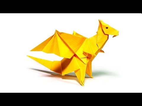 How to Make an Origami Dragon ?