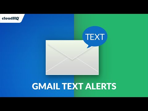 FREE: Gmail SMS Text Alerts