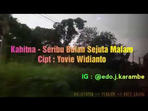 A Journey :  KAHITNA - SERIBU BULAN SEJUTA MALAM Cipt : Yovie Widianto