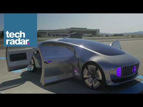 The Mercedes-Benz F 015 self-driving car