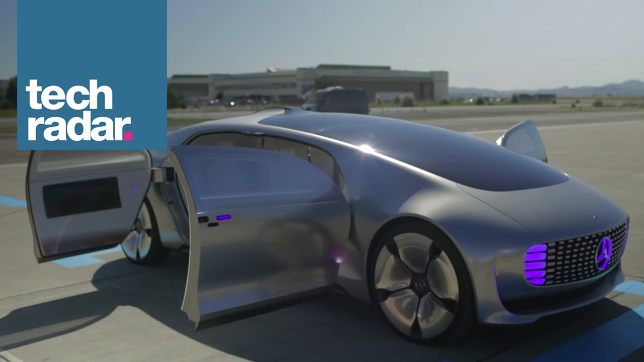 The Mercedes Benz F 015 Self Driving Car Youtube