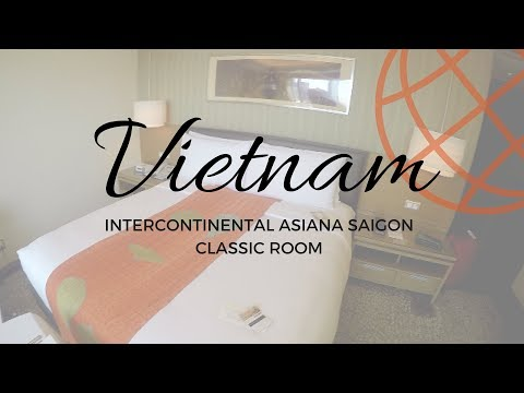 Intercontinental Asiana Saigon Classic Room Tour - Ho Chi Minh City, Vietnam