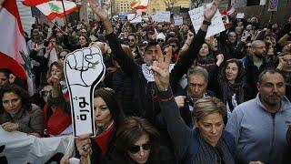 Cien días de protestas contra los políticos en el Líbano