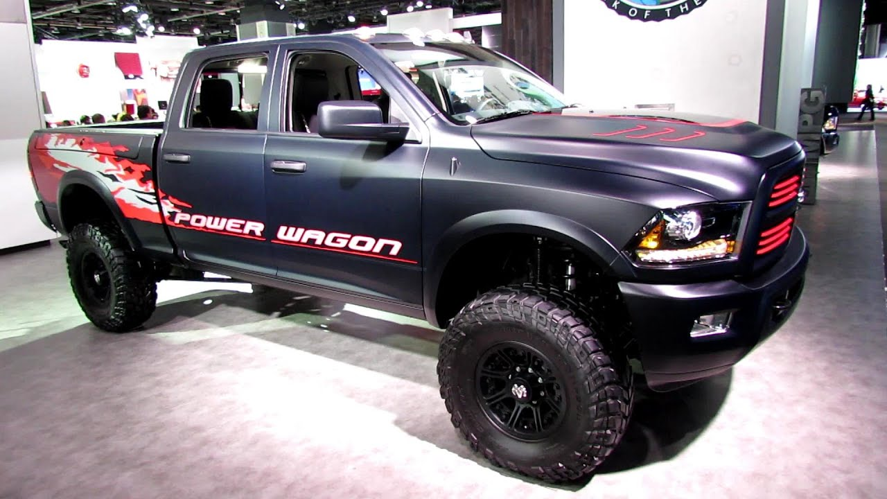 2013 ram 2500 power wagon exterior and interior. Black Bedroom Furniture Sets. Home Design Ideas