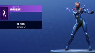 *NEW* TRUE HEART DANCE EMOTE Fortnite Item Shop 6th July