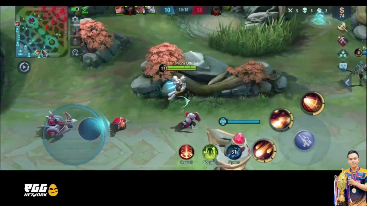 Test first game Kimmy Epic Skin