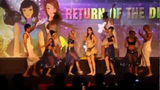 Aa ante amalapuram Maximum, Hazel keech live show performance, Zenith Dance troupe,group,company