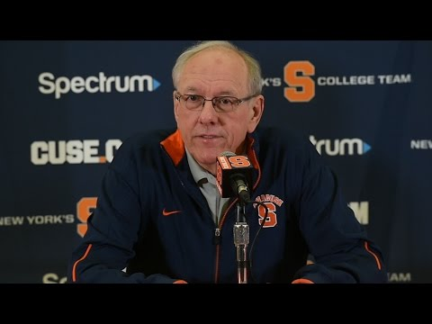 Jim Boeheim: Happy for Mike Hopkins and to continue coaching Syracuse basketball