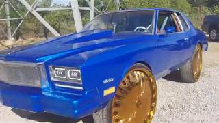Homeboy Scared To Donut My Supercharged Monte Carlo On 30's
