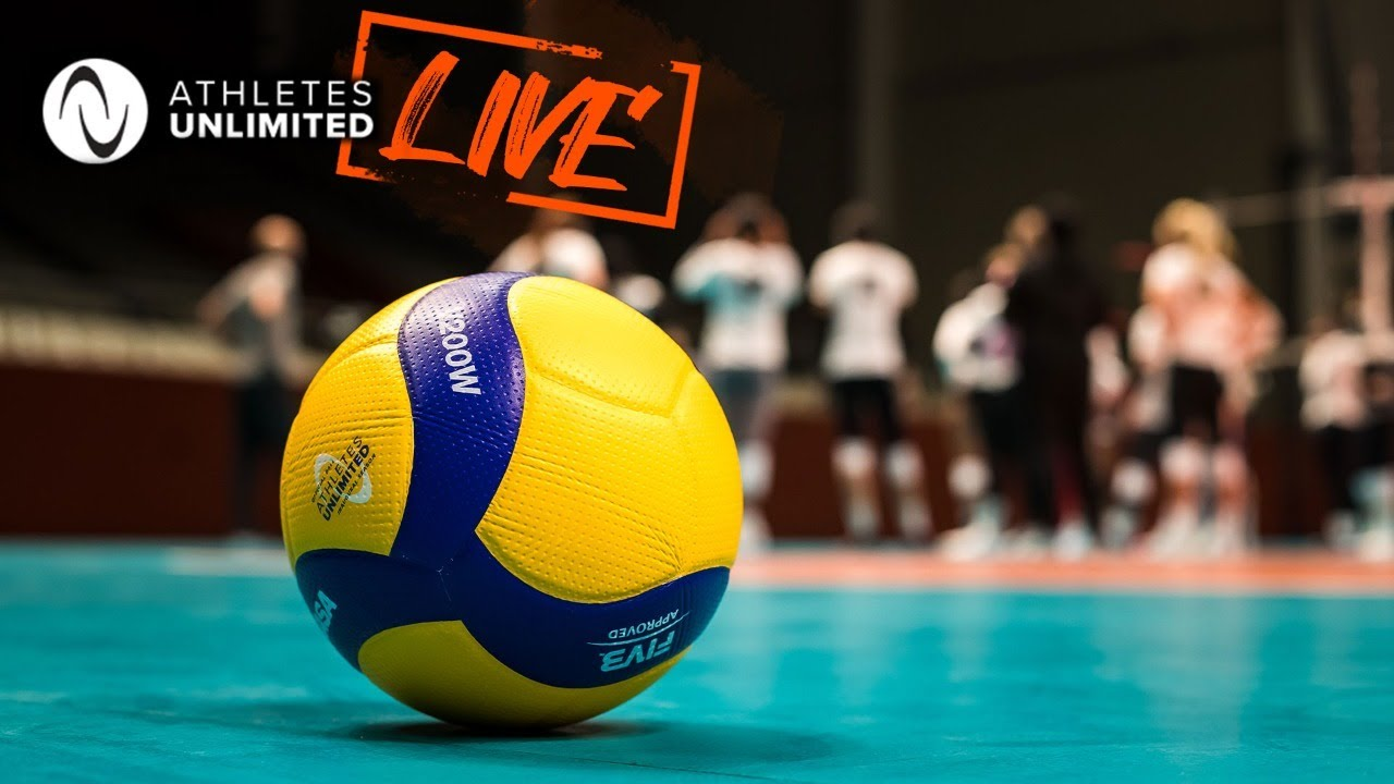 LIVE 🔴 Team Blue vs. Team Gold - Week 5 | Athletes Unlimited Volleyball 2021