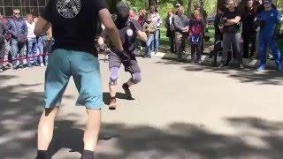 Стальная Грань XVI Фрагмент ножевого боя(, 2016-04-29T13:27:54.000Z)
