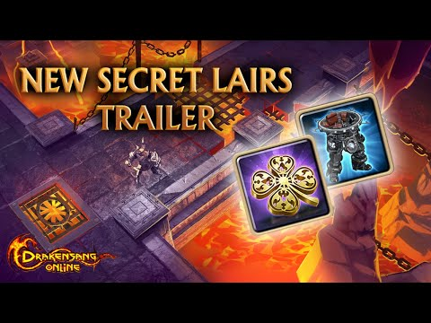 DSO   Drakensang Online   Secret Lairs   Gameplay Trailer (unofficial) #REL214