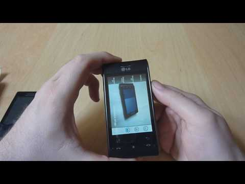 LG GT540 OPTIMUS Test