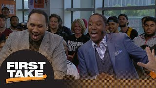 Stephen A.: Isiah Thomas just committed 'blasphemy!' with vintage Pistons story | First Take | ESPN