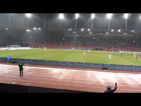 21.2.2015 Grasshopper Club Zürich - FC Zürich 0:2 Stadion Letzigrund Panorama
