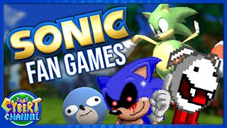 Sonic Fan Games: Project 06, Yeth, Sanicball & More 🔴 That Cybert Channel