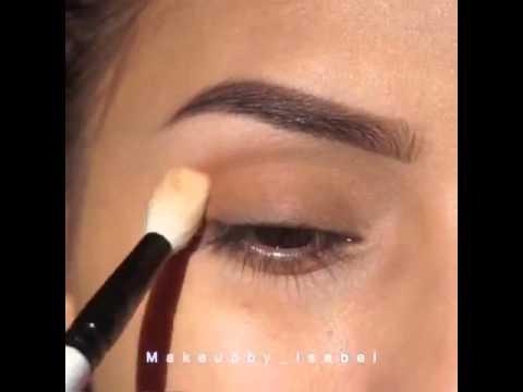beeaf00008660 مكياج للعيون سهل وبسيط وجميل ص😇 - YouTube