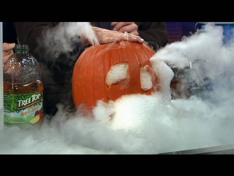 dry ice recipes cool halloween science youtube