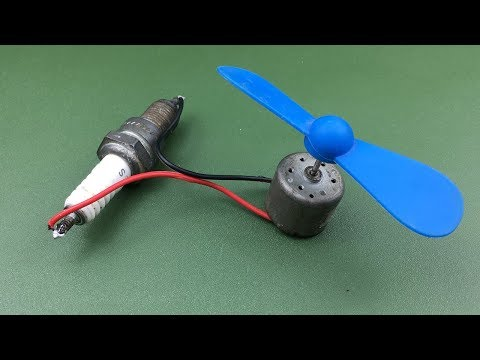 Science project free energy electric generator experiment at home