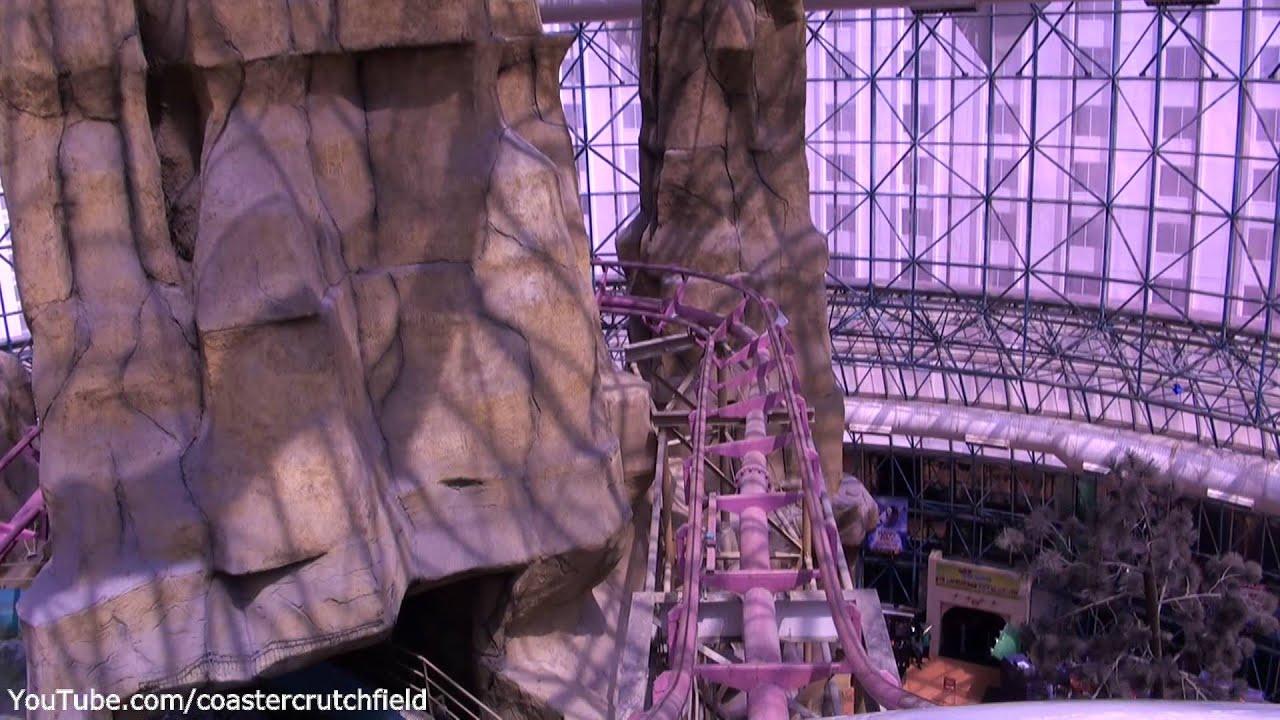 Canyon Blaster Hd Pov Adventuredome At Circus Circus Las