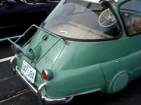 Bmw 300 Isetta Get In Through The Front Door Youtube