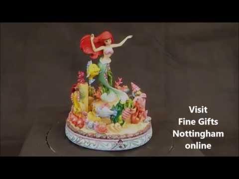 Disney Traditions Ariel Musical Figurine - Little Mermaid - Jim Shore 4039073