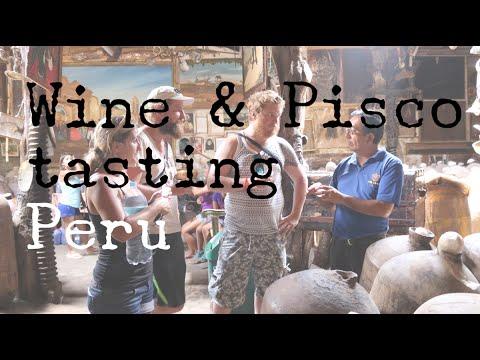 WINE & PISCO TASTING IN PERU - TRAVEL VLOG - The Adventures of Pip & Tobes
