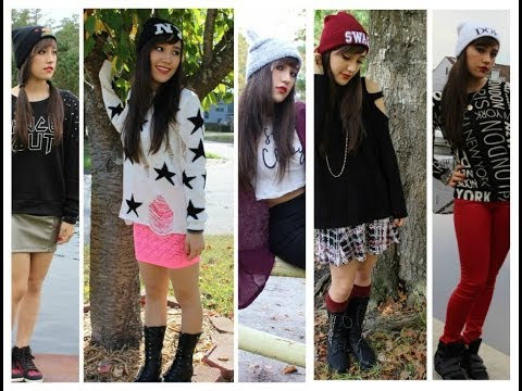 Roblox Outfit Ideas Lookbook Grunge Edition - Cute Outfit With Vans Beanies