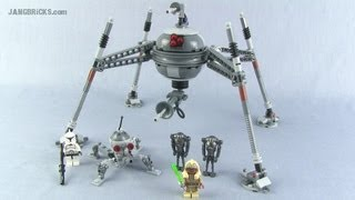 lego Star Wars 75016 Homing Spider Droid Review