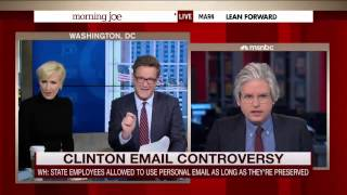 Morning Joe Battles David Brock over Clinton Emails: 'What Planet Are You on'? - Z NEWS