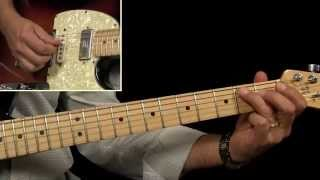 "Vince Gill ""Oklahoma Borderline"" Guitar Lesson - Live Version"
