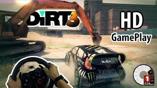 Steering wheel games for pc | Dirt 3 gameplay