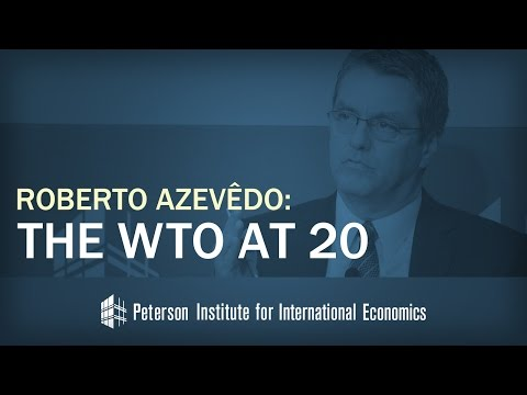 Roberto Azevedo: The WTO at 20