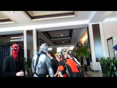 Metrocon 2014 Tampa Convention Center part 8 walking around
