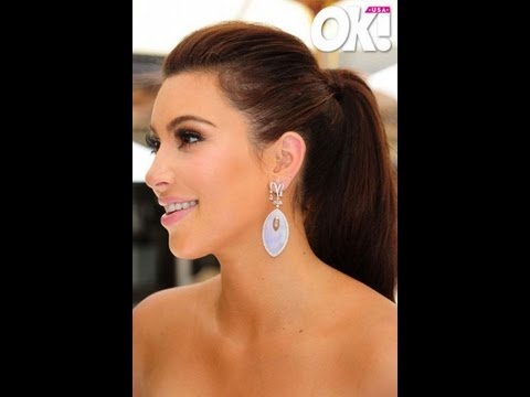 kim kardashian bridal shower look tutorial