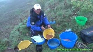 Pescuit la Feeder pe Dunare dupa scobar cu  nada FeederX