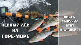 Опять выручил этот БАЛАНСИР Сложная рыбалка на ГОРЕ МОРЕ