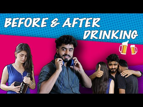 BEFORE AND AFTER DRINKING ||HALF ENGINEER||
