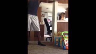 Shadow dancing to Andy Mineo FT Lecrae Rise up