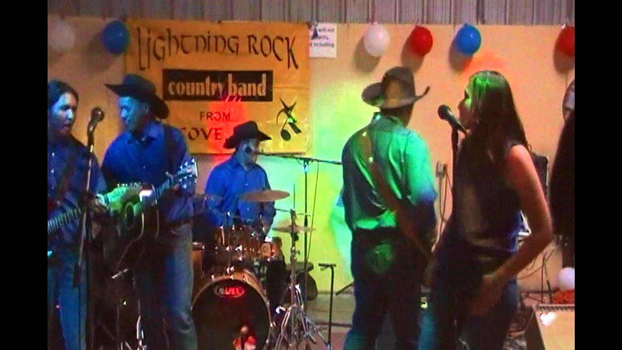 Lightning Rock Country Band Cover- Texas In 1880 - YouTube