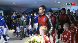 Liverpool 2-1 Everton - FATV exclusive Tunnel Cam  | FA Cup 15-04-12
