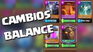 ¡¡MÁS CAMBIOS EN BALANCE!! Adiós, megaesbirro...   Clash Royale con TheAlvaro845   Español